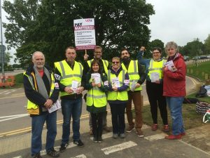 Essex Picket Lines